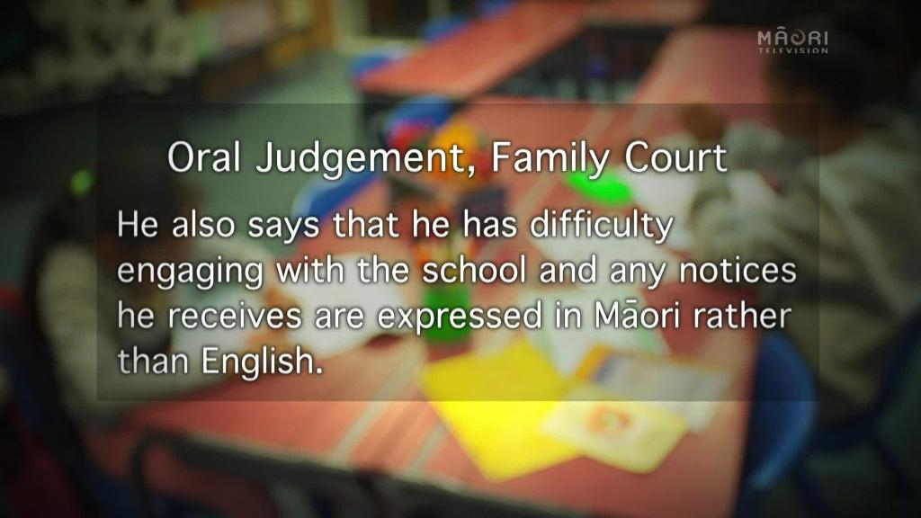 Video for Native Affairs Exclusive: High Court ruling overturns decision to ban girl from Māori language education