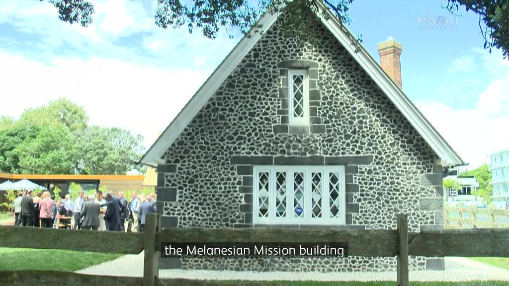 Video for Melanesian building restoration supported by Heritage NZ and iwi