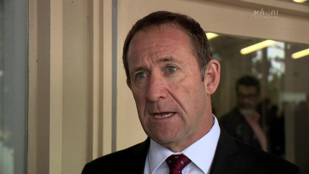 Video for Treaty Minister Andrew Little meets with Ngāpuhi