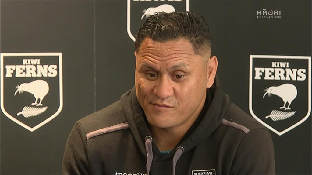 Video for Kiwis Coach David Kidwell contemplates next move