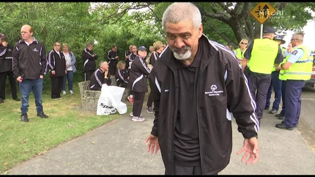 Video for Special Olympics Flame of Hope heads to Wellington