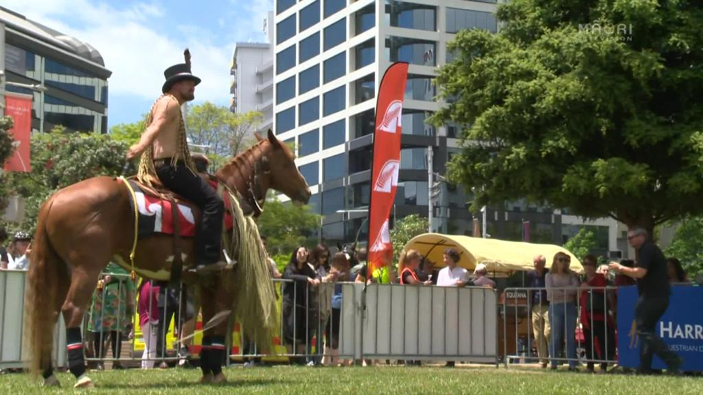 Video for Tokomaru horsebreaker tipped as favourite at Equitana Festival