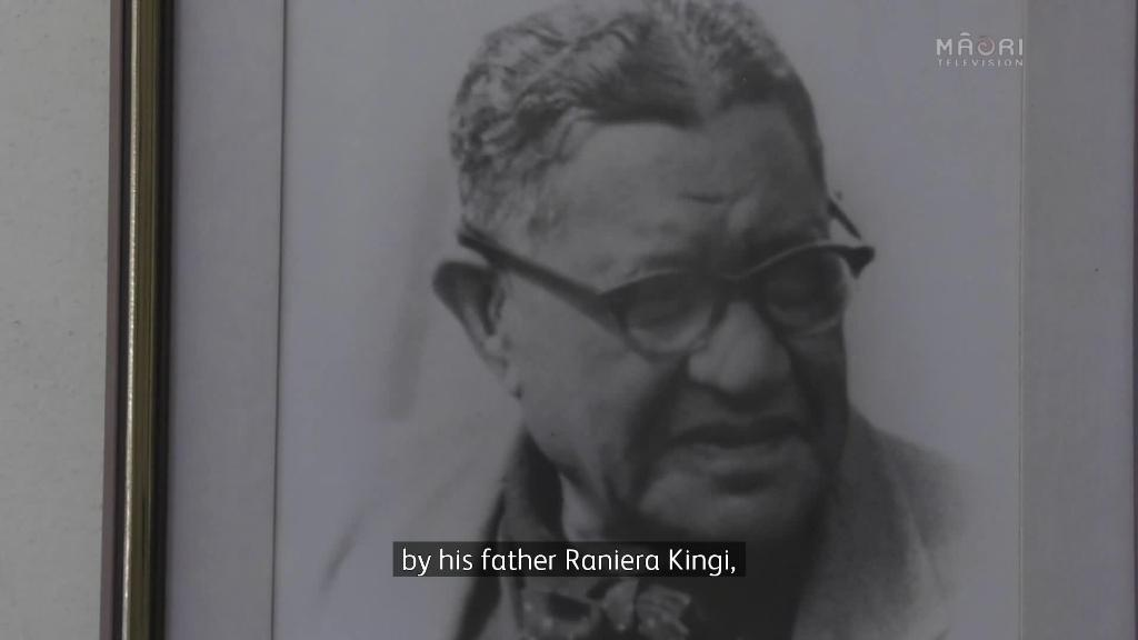 Video for Tributes flow for Te Arawa leader Pihopa Kingi