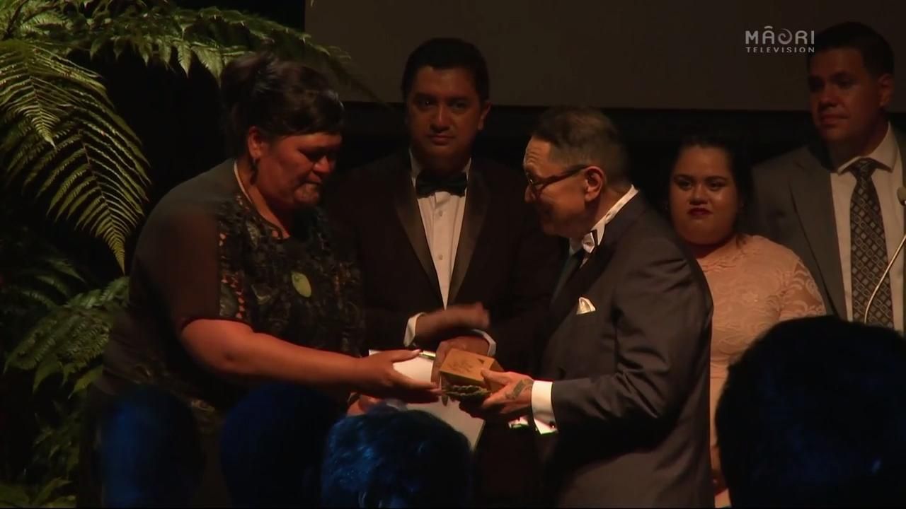 Video for Ngā Tohu Reo Māori 2017, Lifetime Achievement Award - Pou Temara