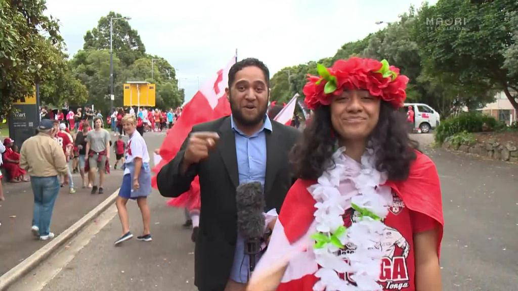 Video for Auckland flooded with Tongan flags ahead of match