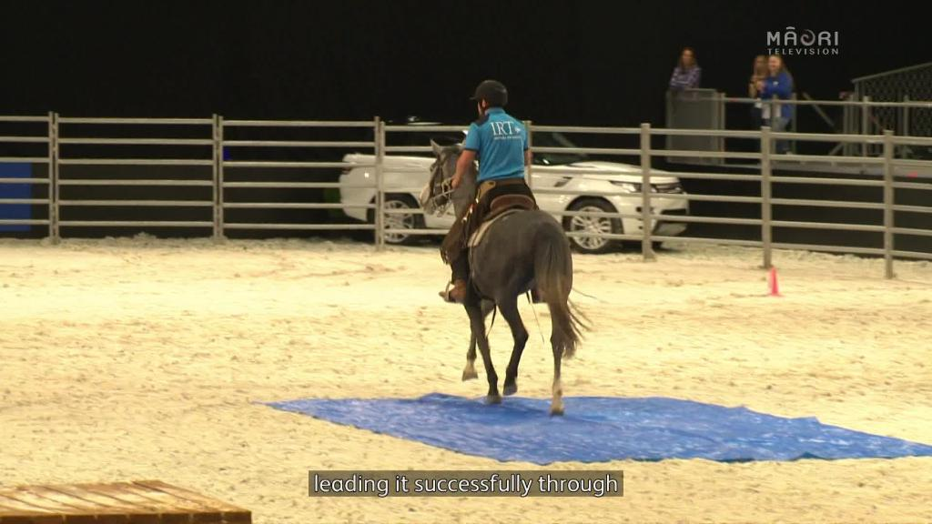 Video for Tui Teka crowned champion at Equitana Festival