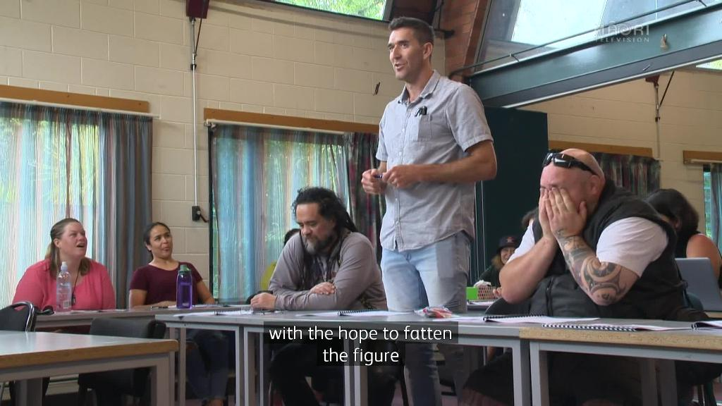 Video for Māori Television holds staff kura reo to help reach 2020 target