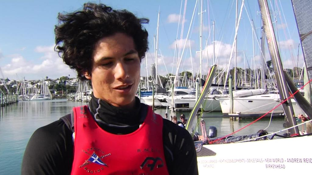 Video for 19-year-old Māori yachtsman catches eye of Emirates Team NZ