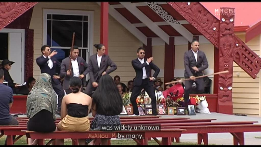 Video for Damon Heke laid to rest at Puhirua Urupā, Awahou