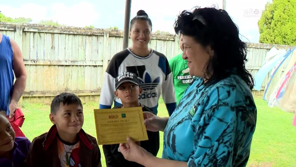 Video for 1000 Xmas boxed blessings for Northland whānau