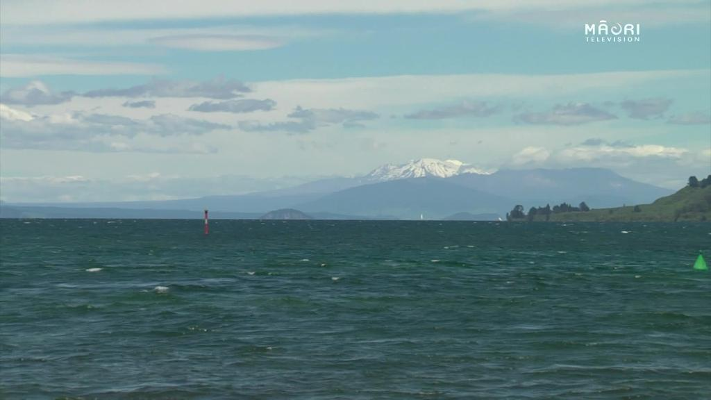 Video for Tūwharetoa kura offer traditional prayers of healing for Lake Taupō