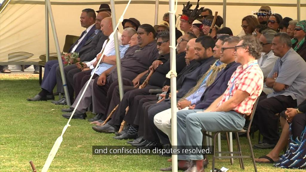 Video for Ngāti Paoa and Tauranga Iwi resolve overlapping claims