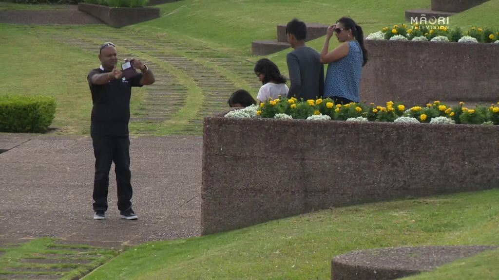 Video for Augmented Reality Tourism APP at Bastion Point