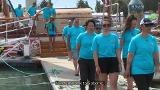 Video for Tairawhiti's floating classroom arrives in Gisborne