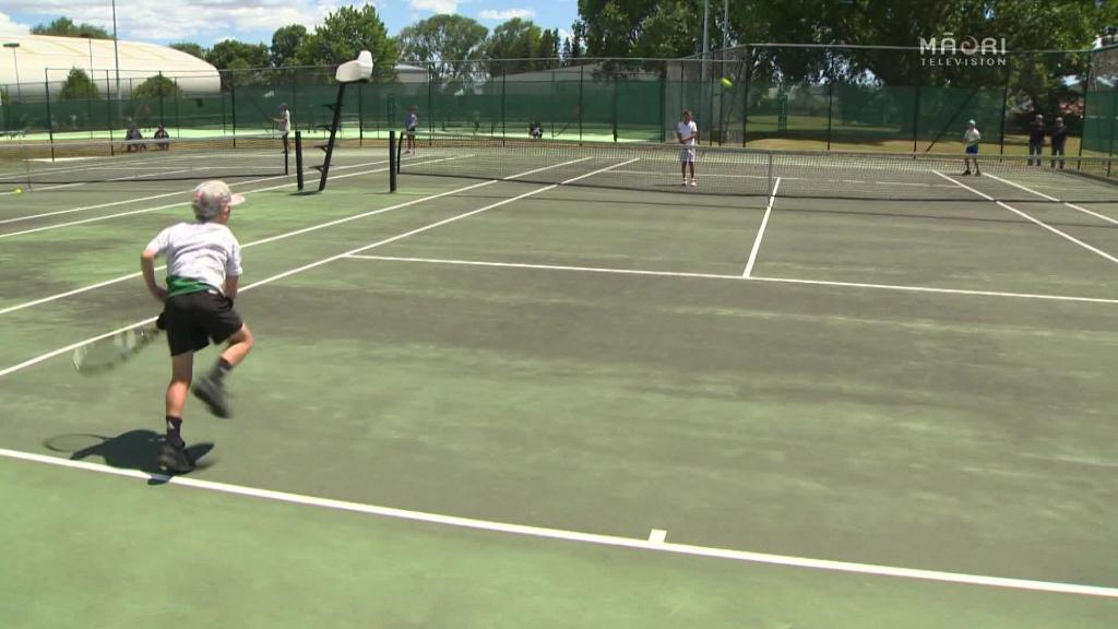 Video for Māori Tennis: Bryce Brothers go head to head