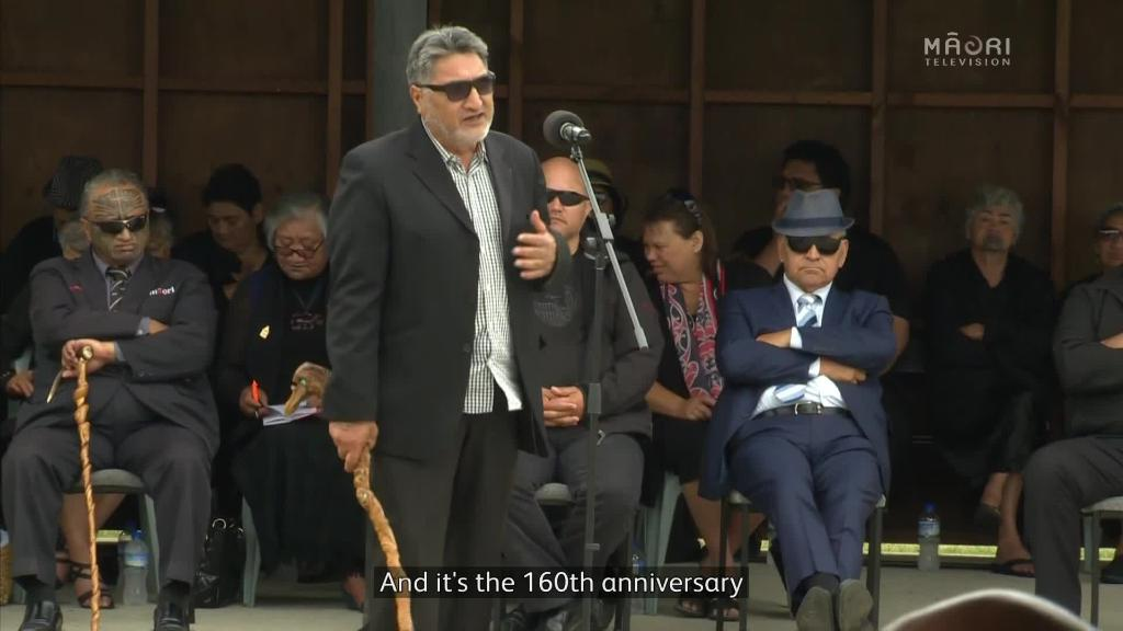 Video for Hundreds mark Horahora marae Poukai on New Years day