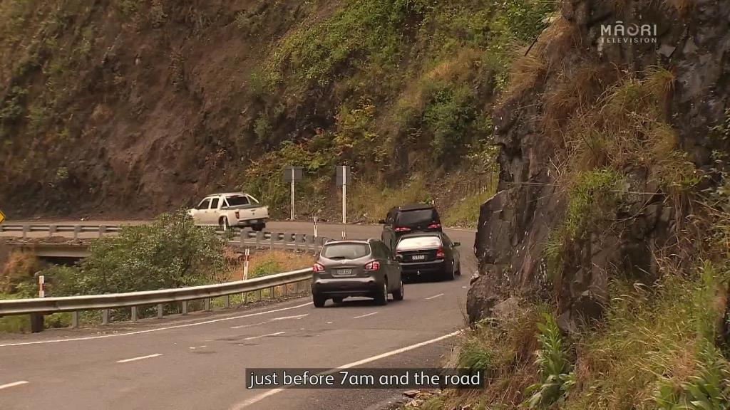 Video for Drivers urged to take care if driving through Waioeka Gorge
