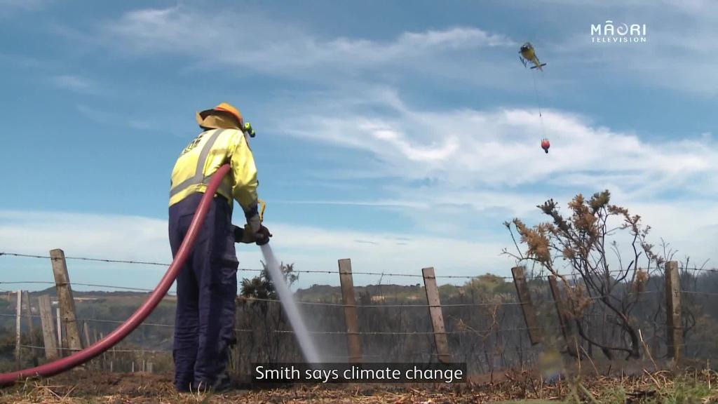 Video for Mike Smith urges Māori to address Climate Change