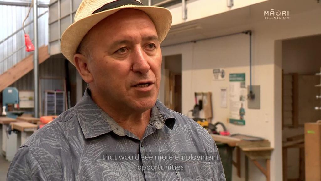 Video for Chairman of Te Matarau Trust tenders for increased trades funding in Northland