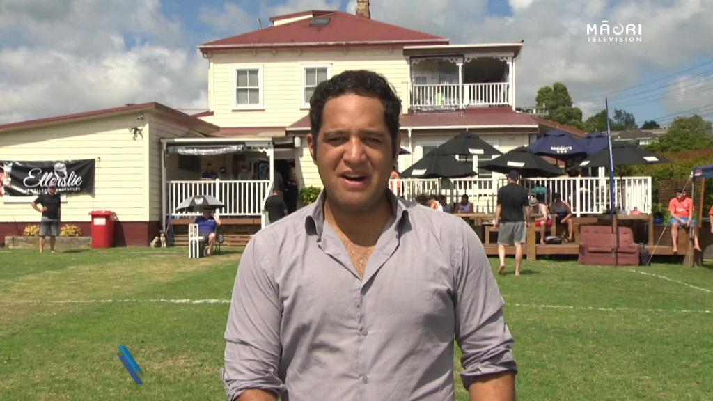 Video for World first for Backyard Cricket tournament