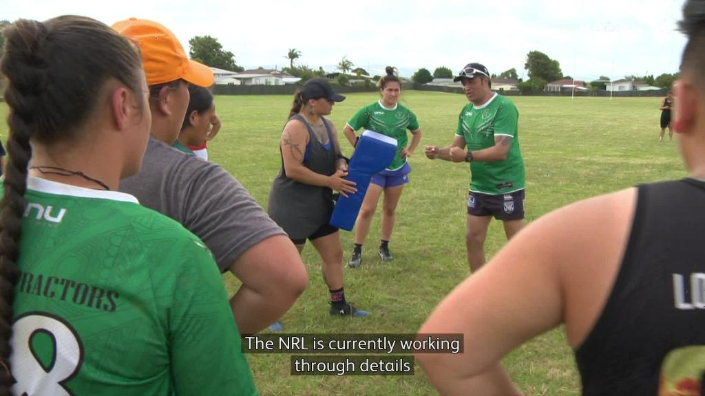 Video for Māori Ferns aim to make Women's NRL team