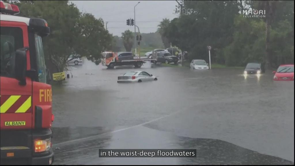 Video for Motorists rescued from North Shore downpour