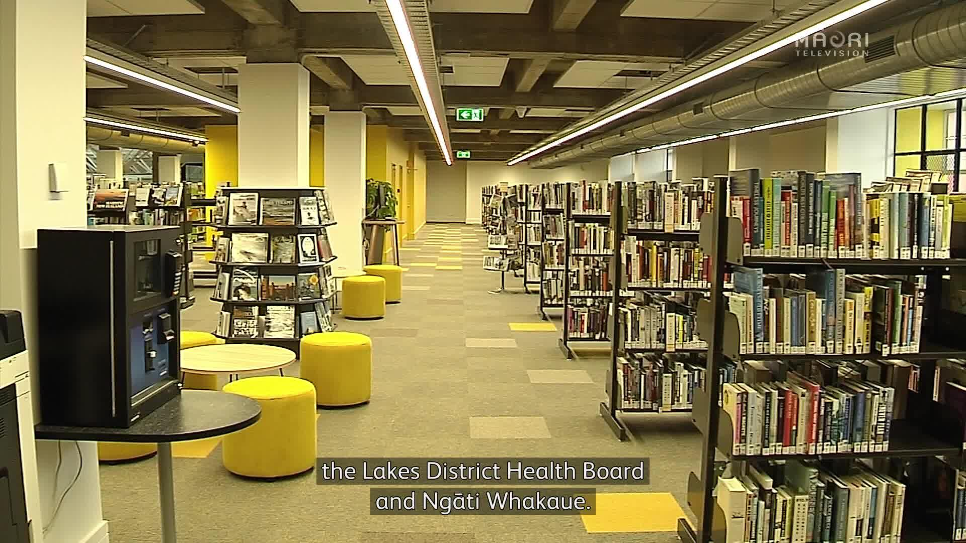 Video for Te Aka Mauri - Rotorua's first multi-million dollar library, children's health hub