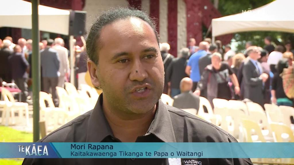 Video for Governor General receives warm Waitangi welcome