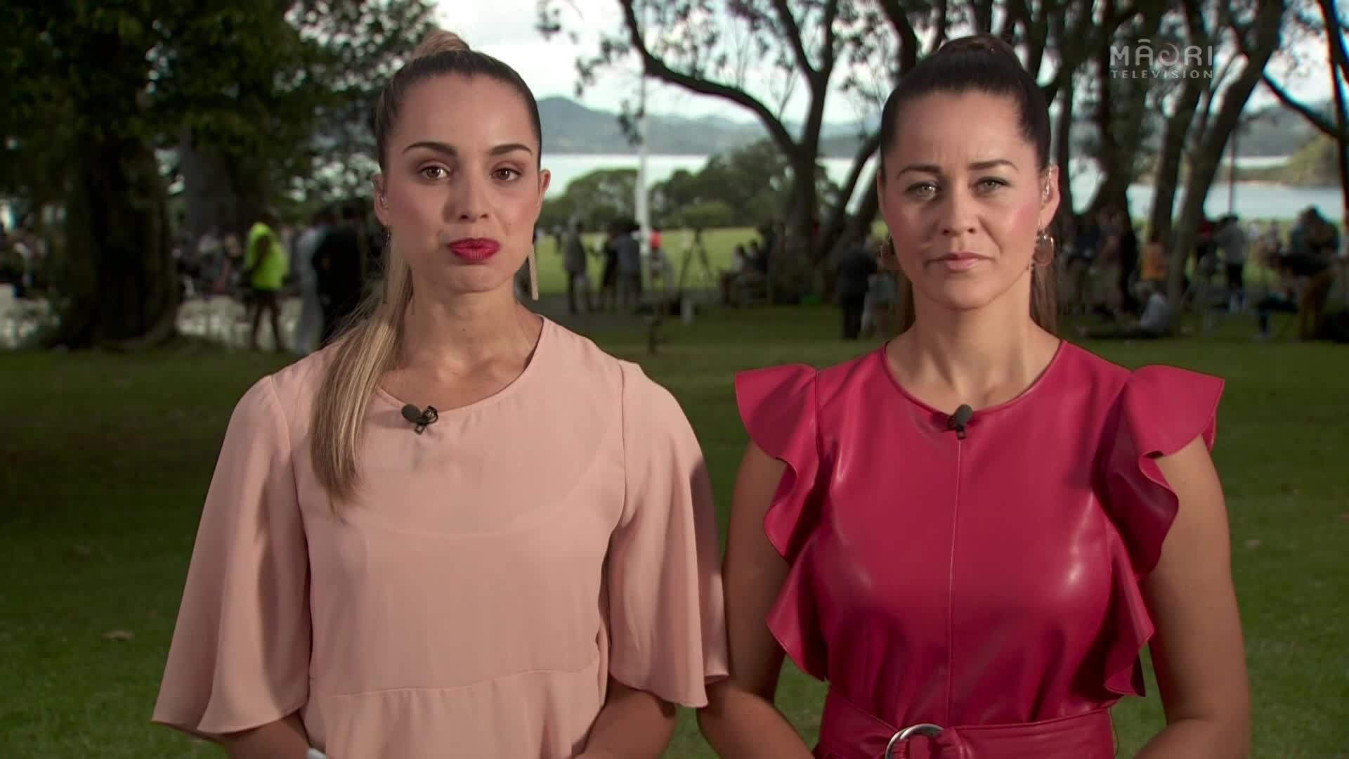 Video for Prime Minister welcomed on to Treaty Grounds