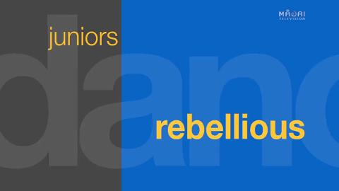 Video for REBELLIOUS
