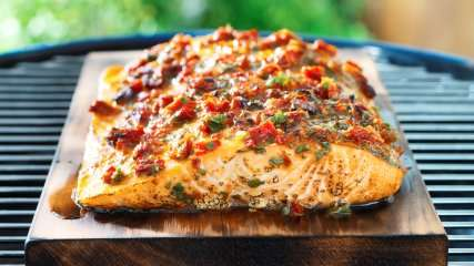Salmon recipes grilled plank