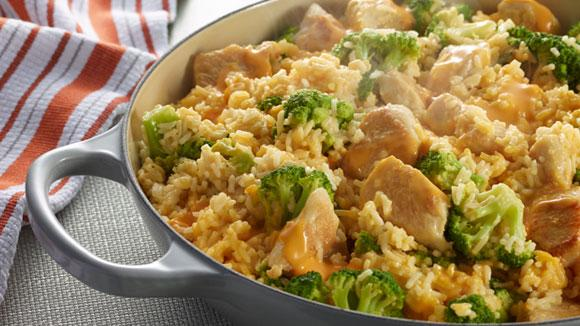 recipe: chicken broccoli cheese rice casserole velveeta [3]