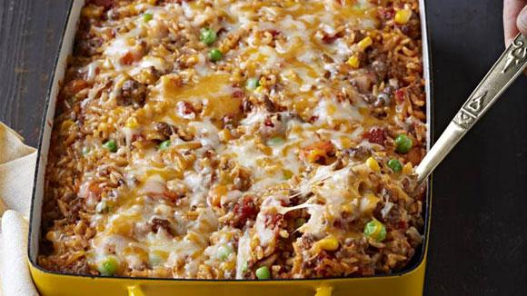 Mexican beef rice casserole kraft recipes forumfinder Choice Image