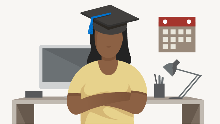 Repaying student loans on a 10-year plan