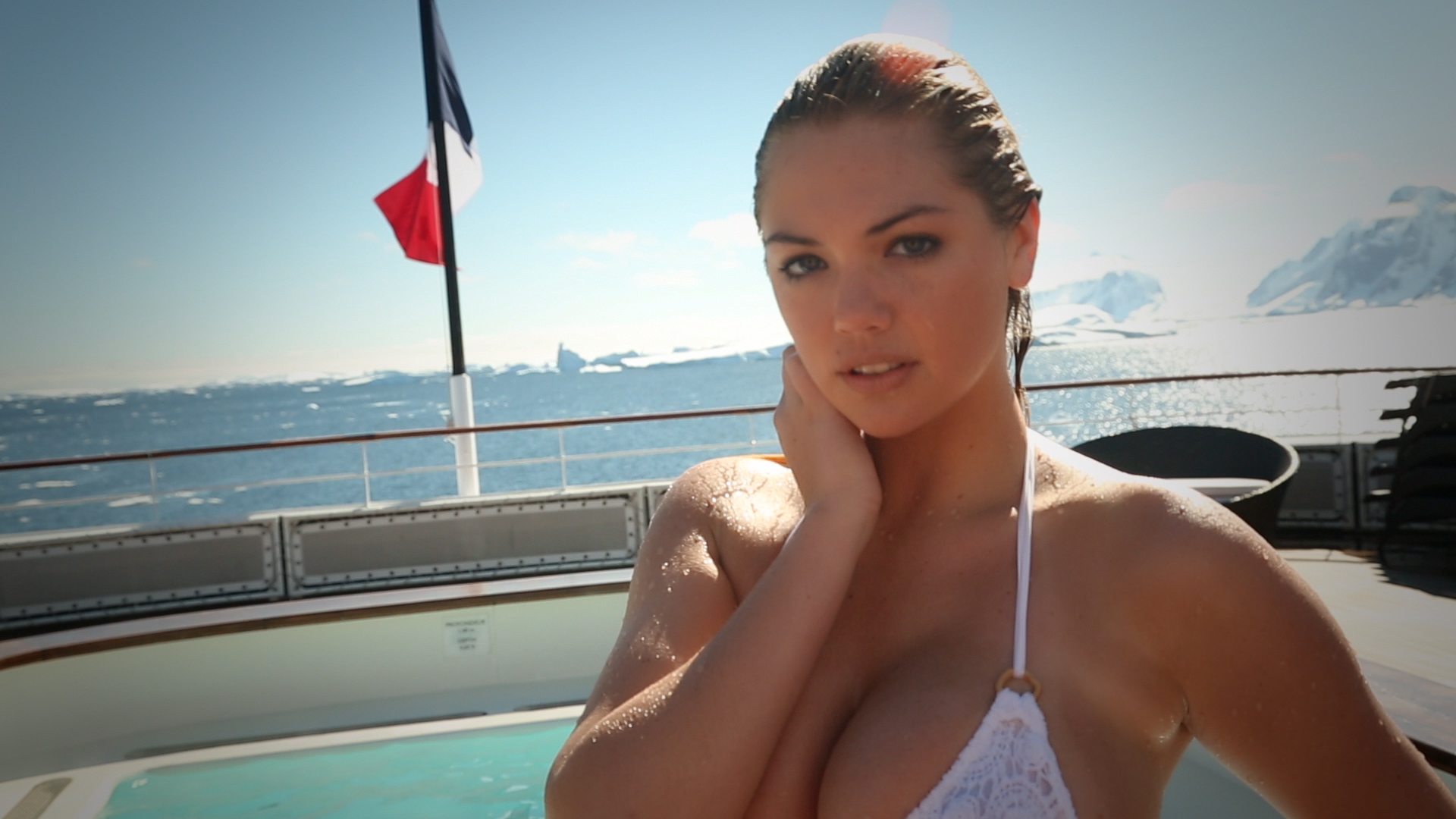 Kate Upton returns to Antarctica (sort of), and we can't help but reminisce about her first visit