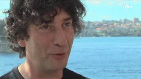 GRAPHIC: Neil Gaiman - Reading at Sydney Opera House - 3:24