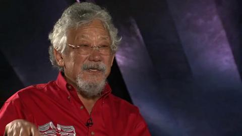Ideas at the House: David Suzuki interview - 4:02