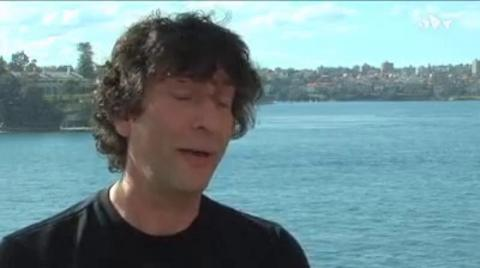 GRAPHIC: Neil Gaiman - Being a Writer - 1:07