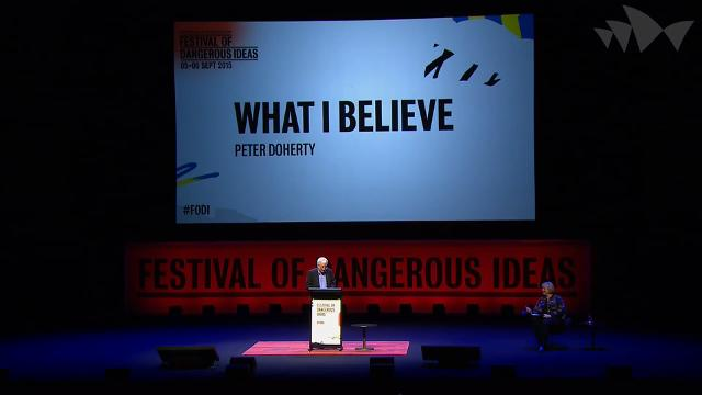 Peter Doherty: What I Believe, Festival of Dangerous Ideas 2015 - 9:51