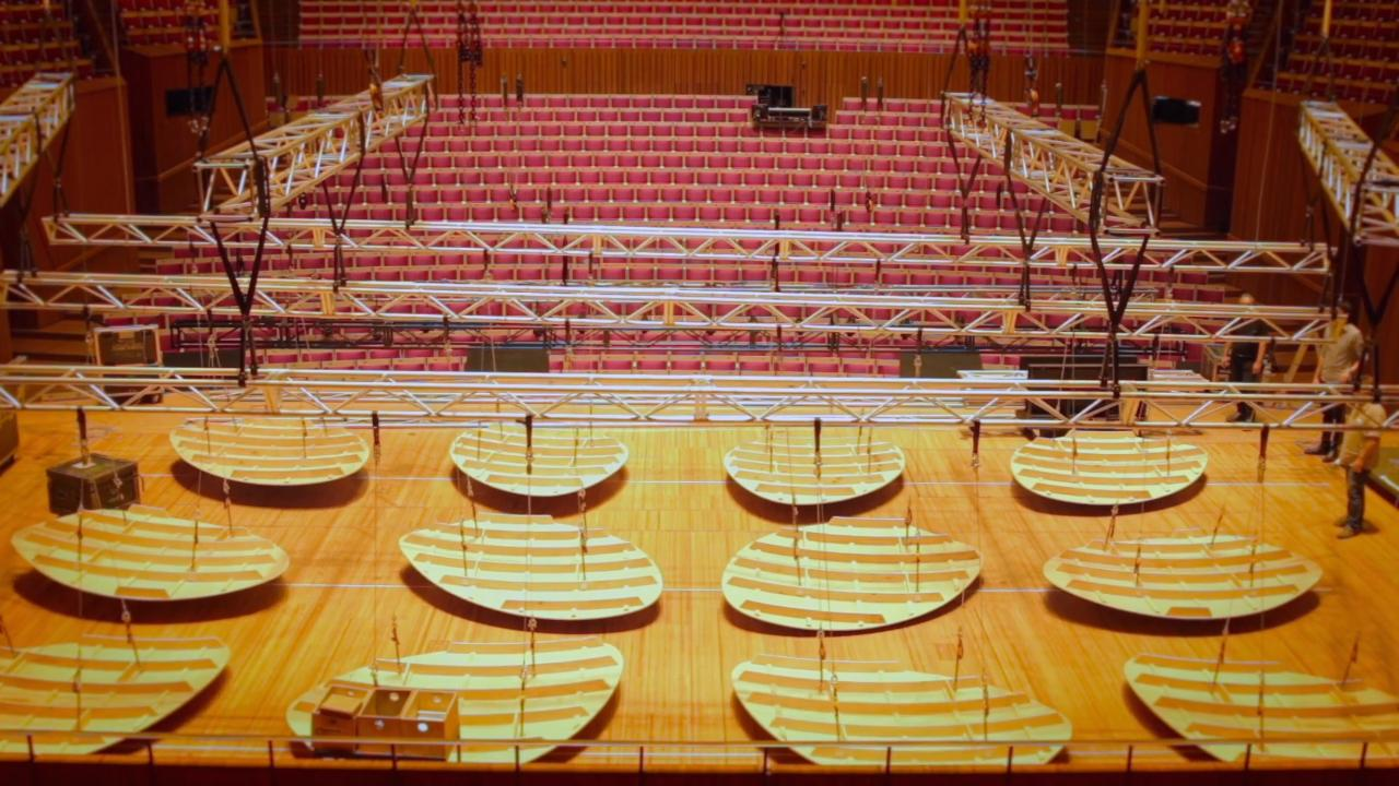 Renewing the Concert Hall - Testing Acoustic Reflectors - 2:20