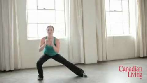 Toning trouble spots: Amazing thigh workout