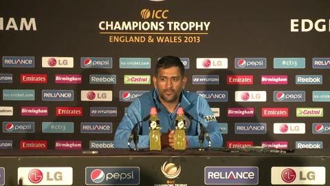F: Mahendra Singh Dhoni Press Conference Part3