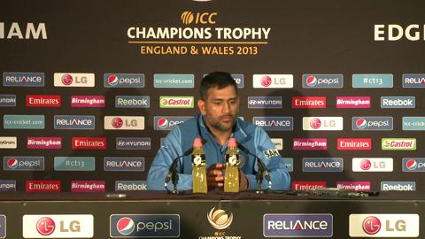 F: Mahendra Singh Dhoni Press Conference Part 5