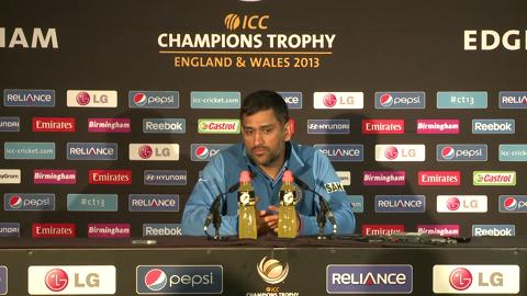 F: Mahendra Singh Dhoni Press Conference Part 2