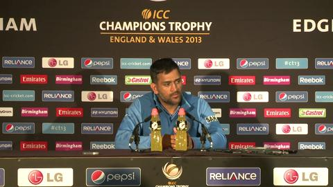 F: Mahendra Singh Dhoni Press Conference Part 4