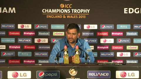F: Mahendra Singh Dhoni Press Conference Part 1