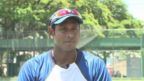 Angelo Mathews interview
