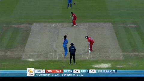F: England Innings Highlight