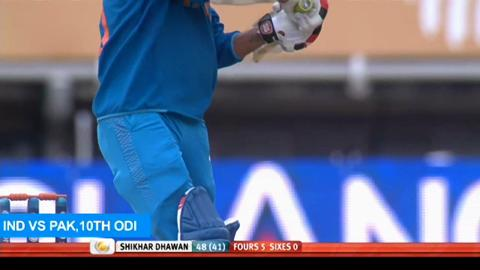 F: Man Of The Series - Shikhar Dhawan