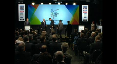 ICC CWC 2015 launch in Wellington